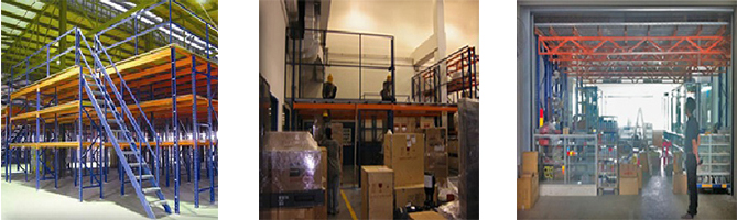 Rack Supported Mezzanine racking System
