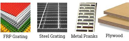 SuperBlock Mezzanine racking flooring system