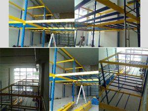 Mezzanine Super Block racking system