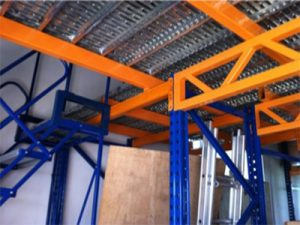 Truss Supported Mezzanine