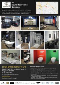 Equip Bathrooms Flagship Showroom at Vertex 2018