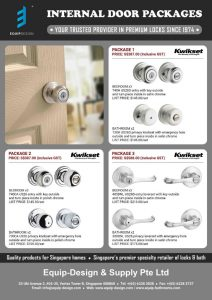 Equip Design Internal Door Locks Packages Promo